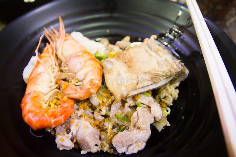 Siamesische Nahrung - Stirfischrogen #6 stockfotos