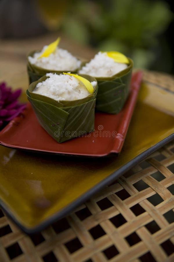 Siamesische Nahrungsmittelteller stockfotografie