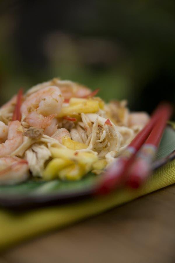 Siamesische Nahrungsmittelteller lizenzfreie stockbilder