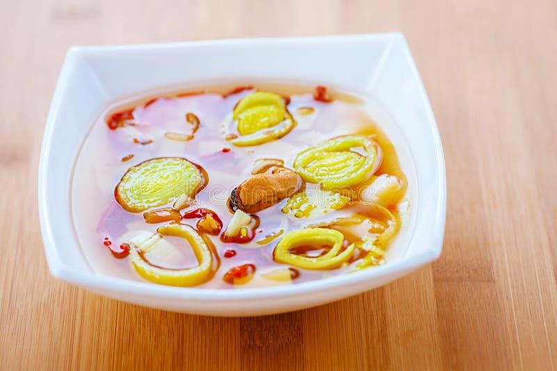 Siamesische Suppe Tom-Yamswurzel lizenzfreies stockbild