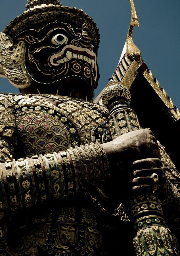 Siamesische Wächterstatue stockfotografie