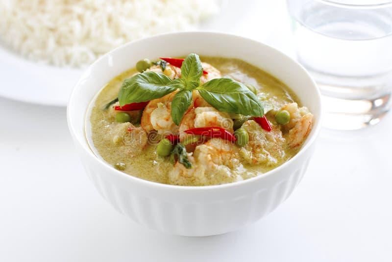 Siamesischer grüner Curry lizenzfreies stockfoto