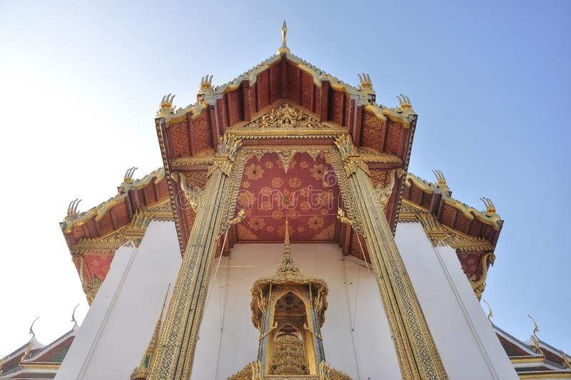 Siamesischer großartiger Palast lizenzfreie stockbilder