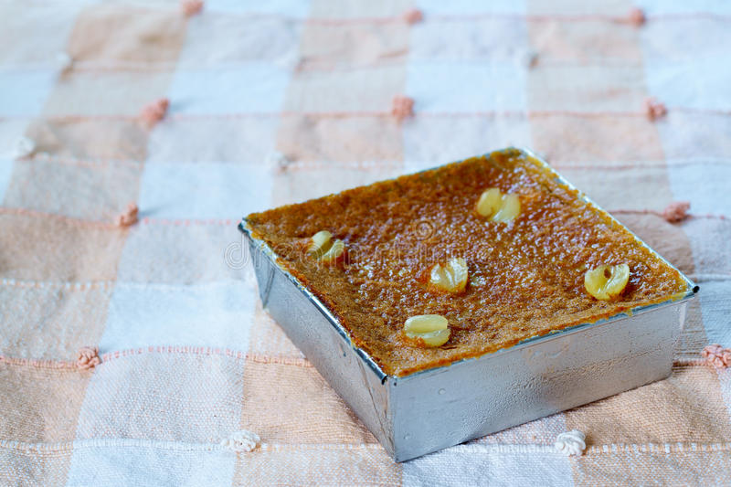 Siamesischer Nachtisch Mung Bean Thai Custard D lizenzfreie stockfotografie