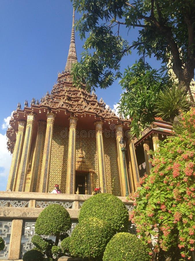 Siamesischer Tempel stockfoto