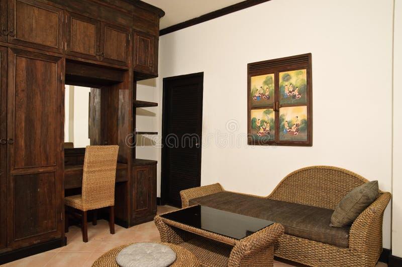 Siamesisches Artwohnzimmer lizenzfreies stockfoto