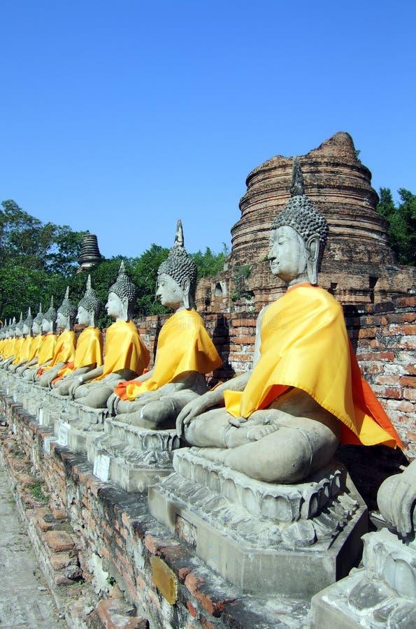 Siamesisches Buddhas stockfotografie