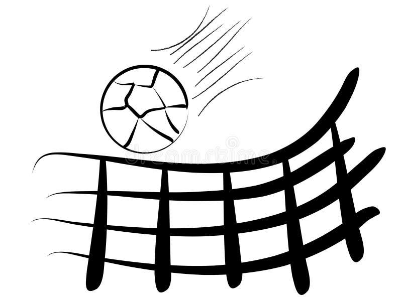 siatkówka ilustracja wektor
