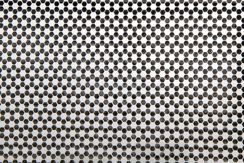 Siatka w honeycomb wzorze obrazy stock