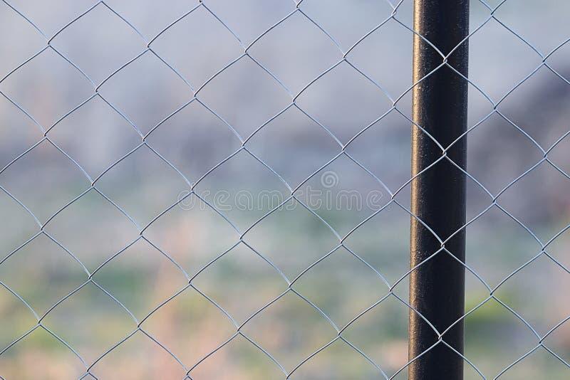 Siatkarstwa siatkarstwa ogrodzenie zdjęcie royalty free