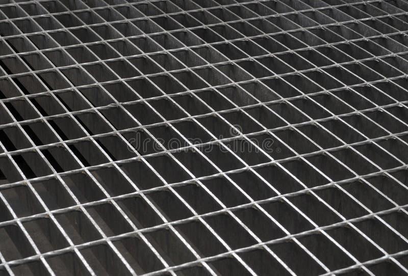 siatki żelaza tekstura fotografia stock