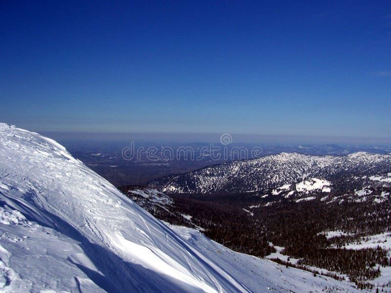 Sibéria, vista da altura imagens de stock royalty free
