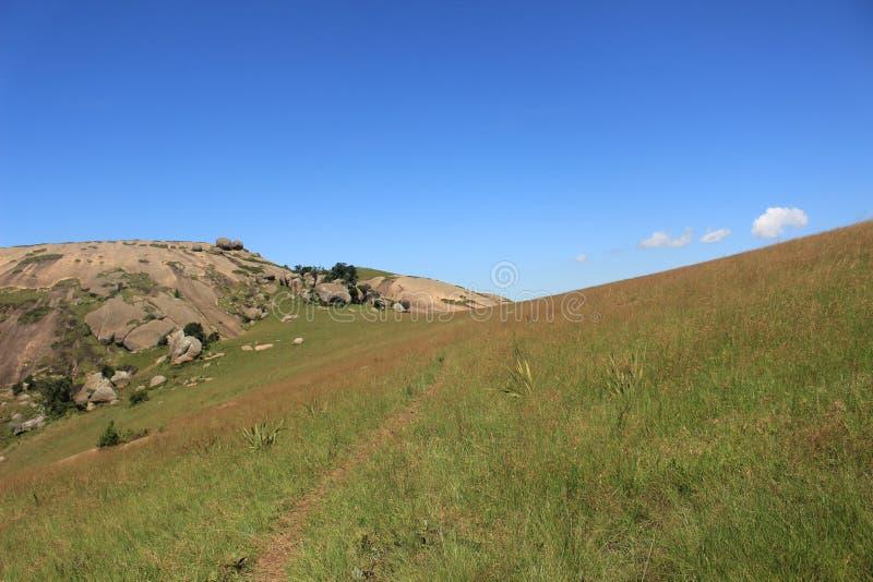 Sibebe vaggar, sydliga africa, Swaziland, den afrikanska naturen, lopp arkivfoton