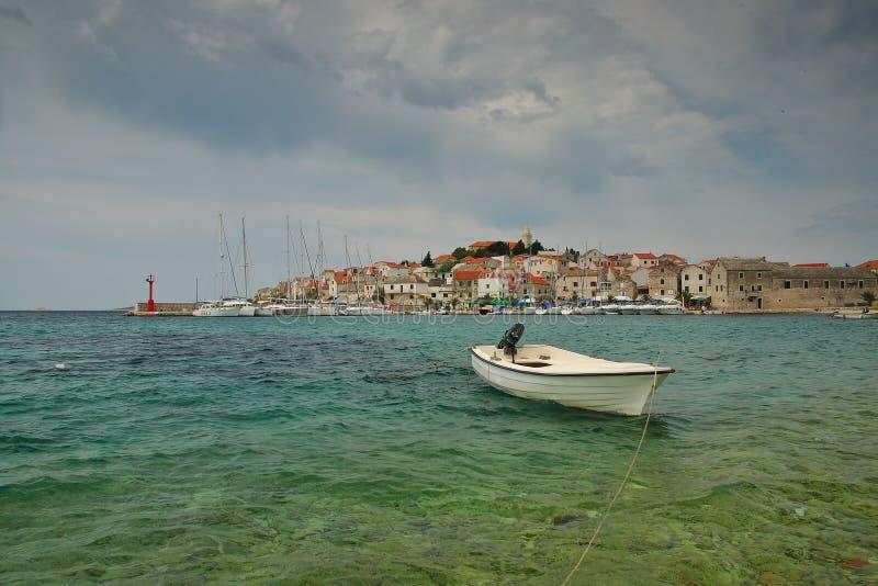 sibenik Хорватии стоковое фото rf