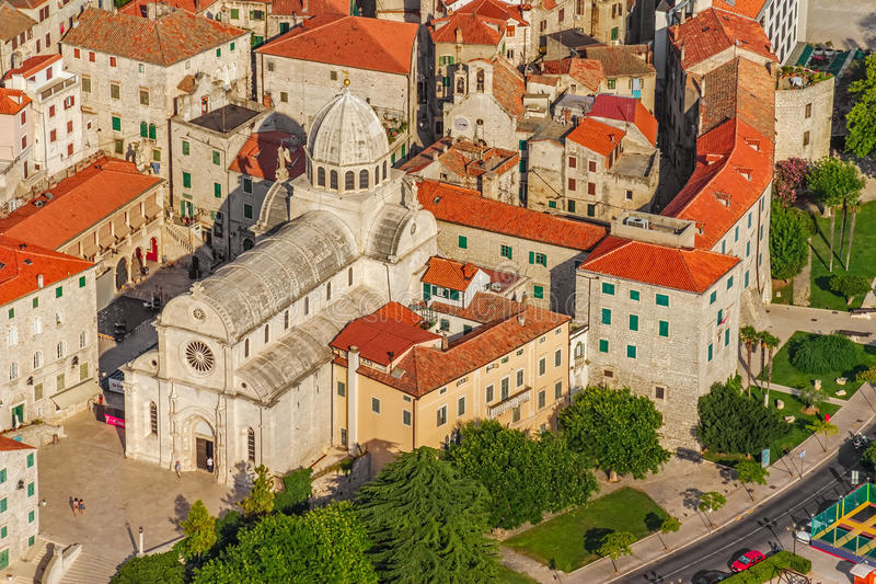 Download Sibenik cathedral stock photo. Image of ancient, coastal - 27099082