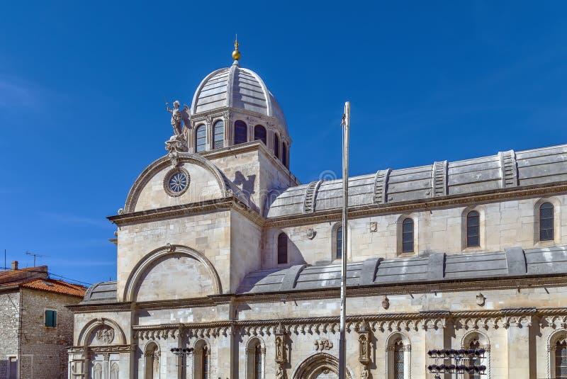 Sibenik Cathedral, Croatia stock image