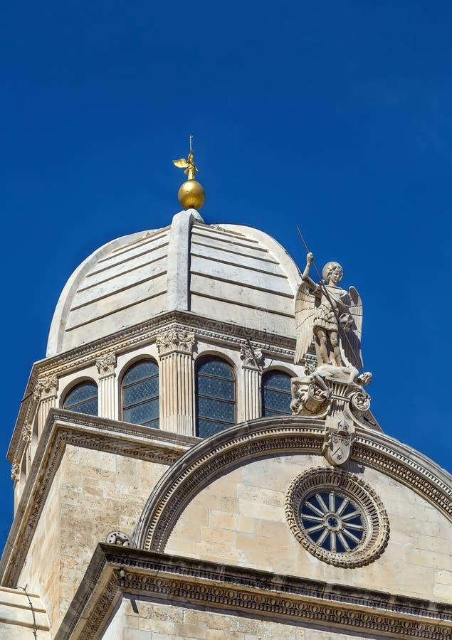 Sibenik Cathedral, Croatia royalty free stock image