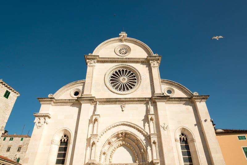 Sibenik cathedral royalty free stock image
