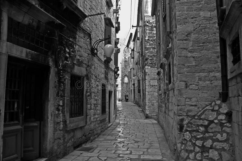 Sibenik, Croatia fotografía de archivo libre de regalías