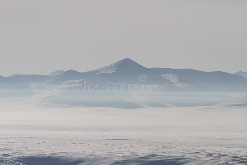 Siberian mountains stock photography