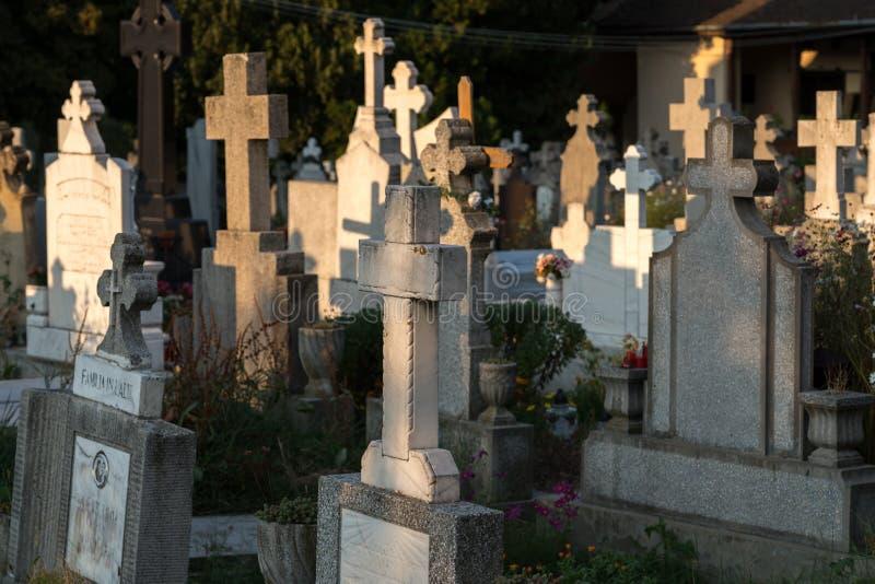 SIBIEL, TRANSYLVANIA/ROMANIA - 16-ОЕ СЕНТЯБРЯ: Взгляд gravey стоковое изображение