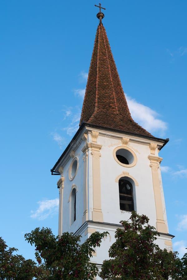 SIBIEL, TRANSYLVANIA/ROMANIA - 16 DE SETEMBRO: Ideia exterior de t imagem de stock