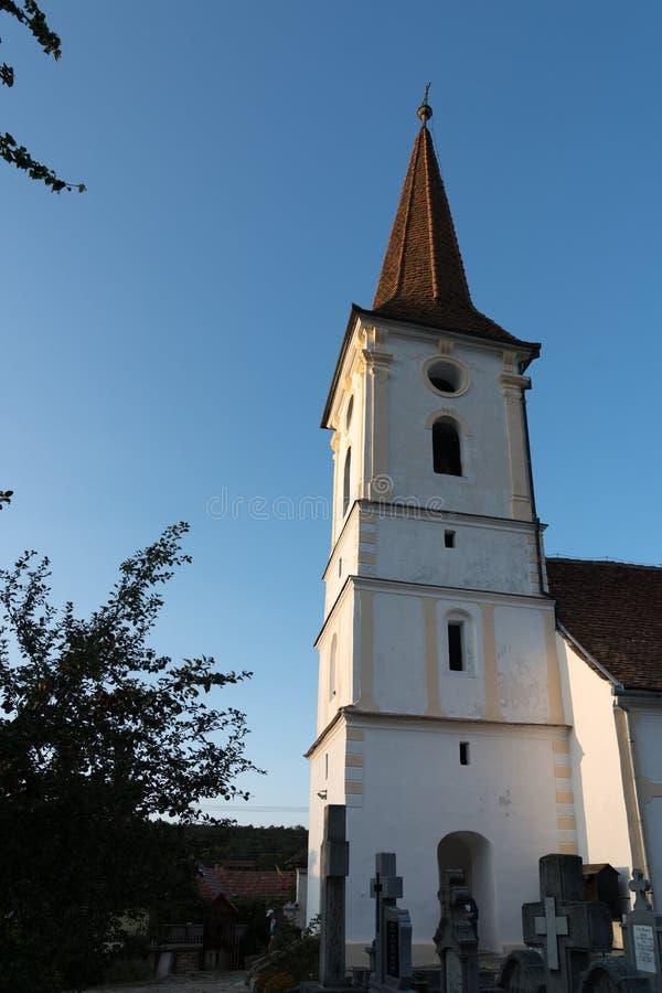 SIBIEL, TRANSYLVANIA/ROMANIA - 16 DE SETEMBRO: Ideia exterior de t fotos de stock royalty free