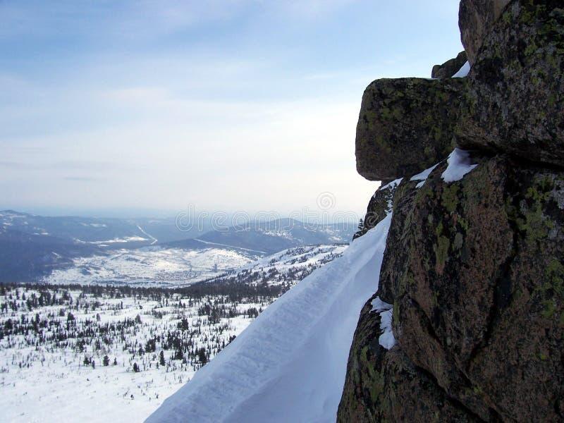Sibirien, die Stärke der Berge lizenzfreie stockfotos