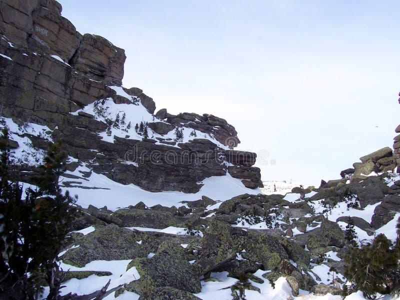 Sibirien, die Stärke der Berge lizenzfreie stockfotografie