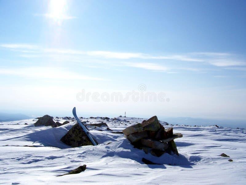 Sibirien styrkan av bergen royaltyfria foton