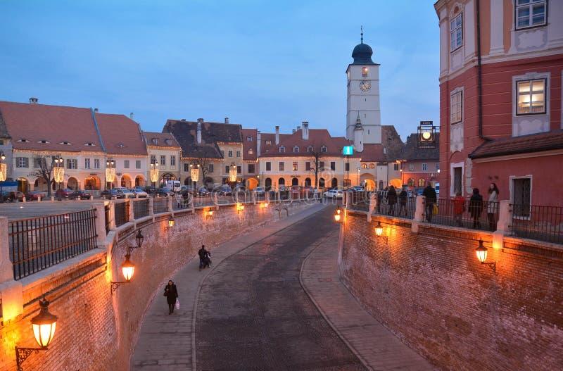 Sibiu royaltyfri fotografi