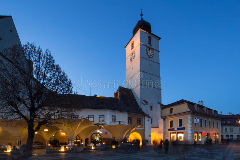 Sibiu City Center royalty free stock images