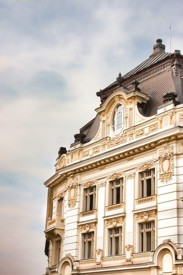 Sibiu cityhall royalty-vrije stock afbeelding