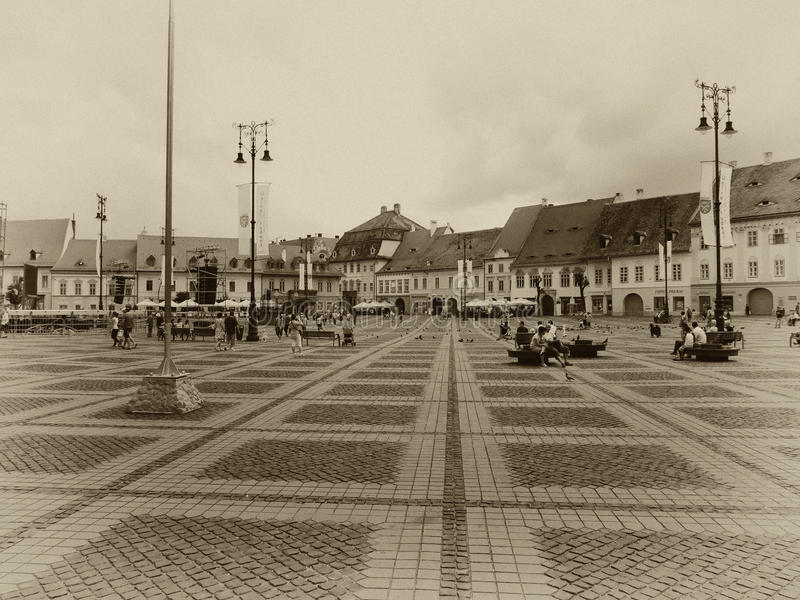 Sibiu/hermannstadt photos stock