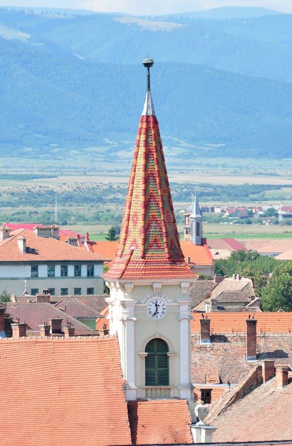 Sibiu Reformowany kościół zdjęcie stock