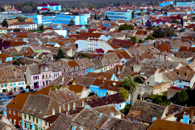 Sibiu, Roemenië stock foto