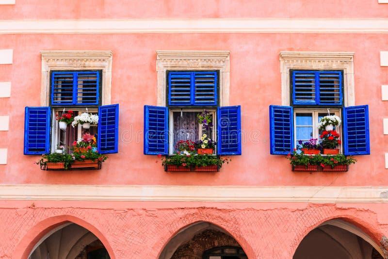 Sibiu, Romênia fotografia de stock