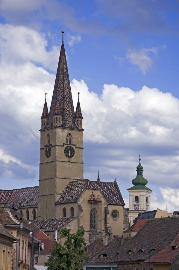 Sibiu, Romania imagens de stock royalty free