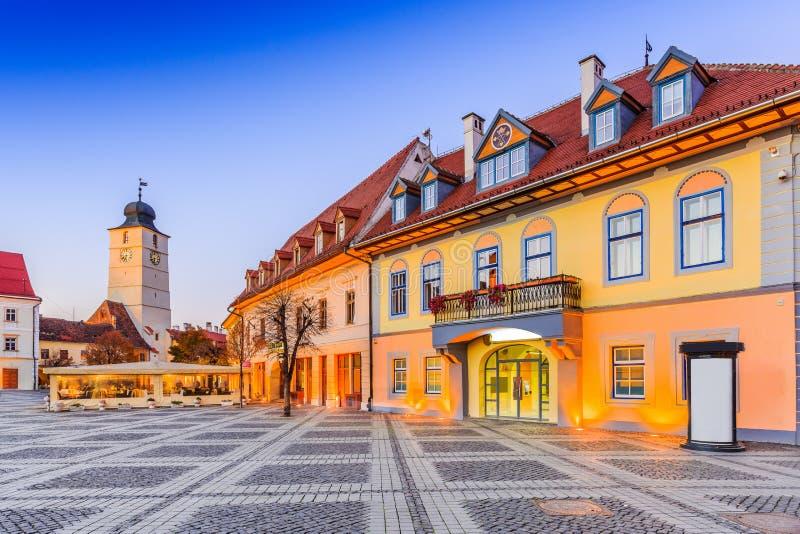 Sibiu romania zdjęcia royalty free