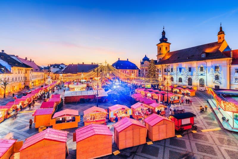 Sibiu, Romania. stock photo