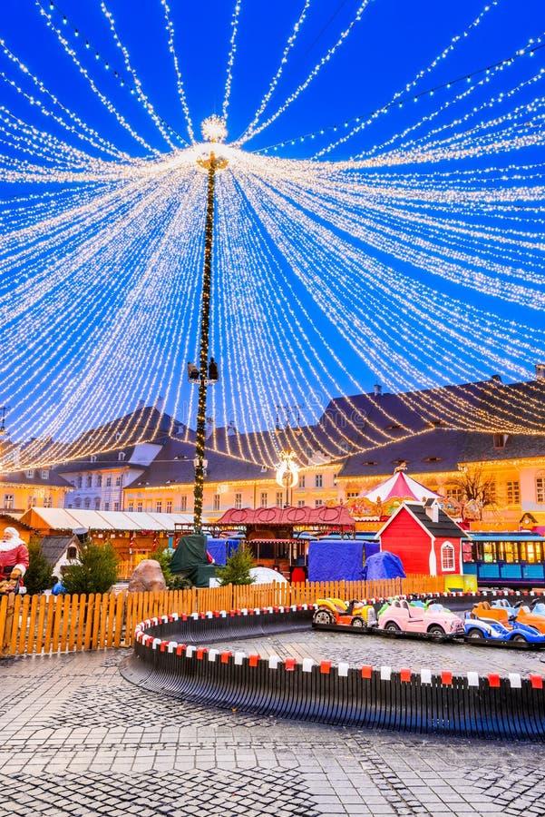 Free Sibiu, Romania, Winter Tale At Christmas Market Royalty Free Stock Photo - 104841135