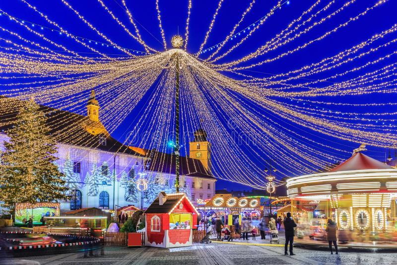Sibiu, Roumanie photographie stock