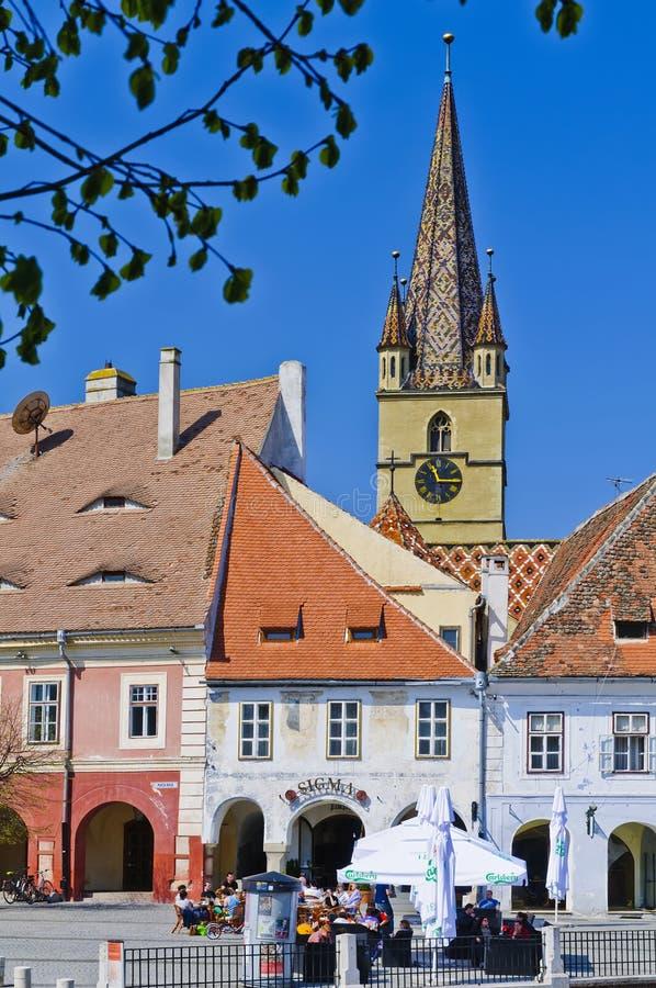 Sibiu, Roumanie photos libres de droits