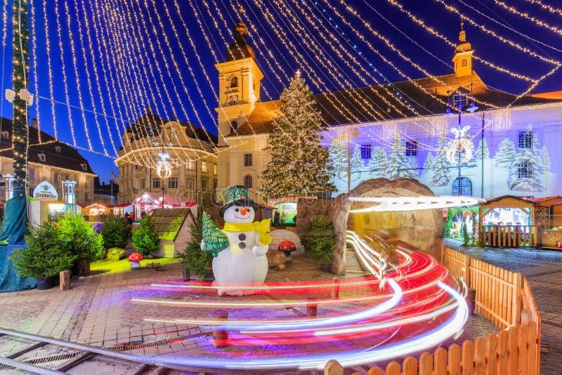 Sibiu, Rumania fotos de archivo libres de regalías