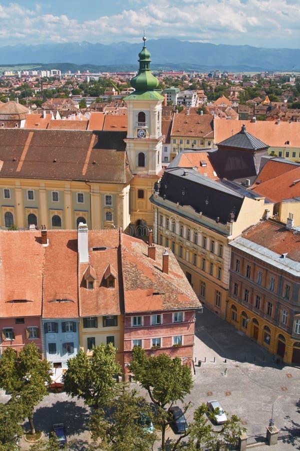 Sibiu-Rumania fotografía de archivo libre de regalías