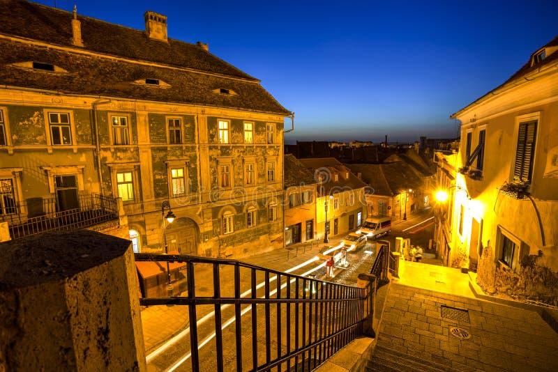 Sibiu, Transylvania, Romania royalty free stock photo