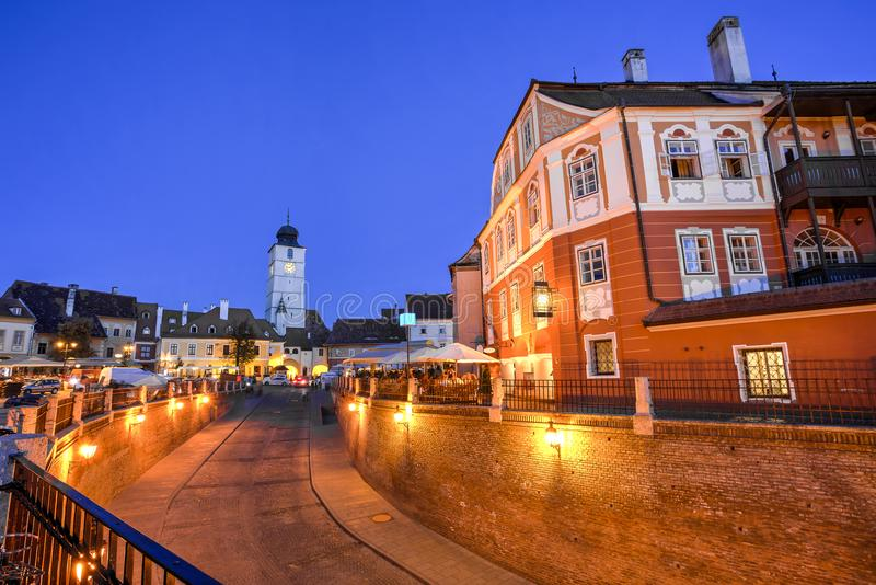 Sibiu, Transylvania, Romania royalty free stock images