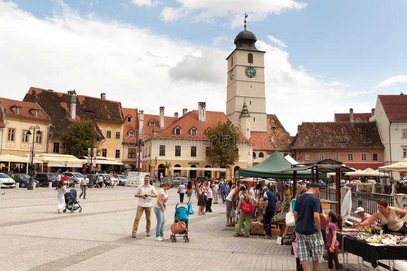 Download Sibiu editorial image. Image of houses, coffee, tourist - 43633345