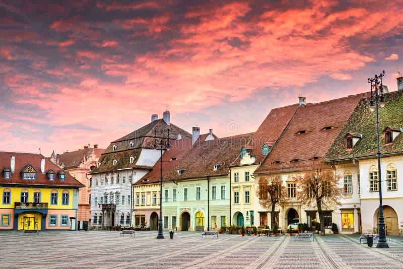 Sibiu, Transylvania, Romania stock image