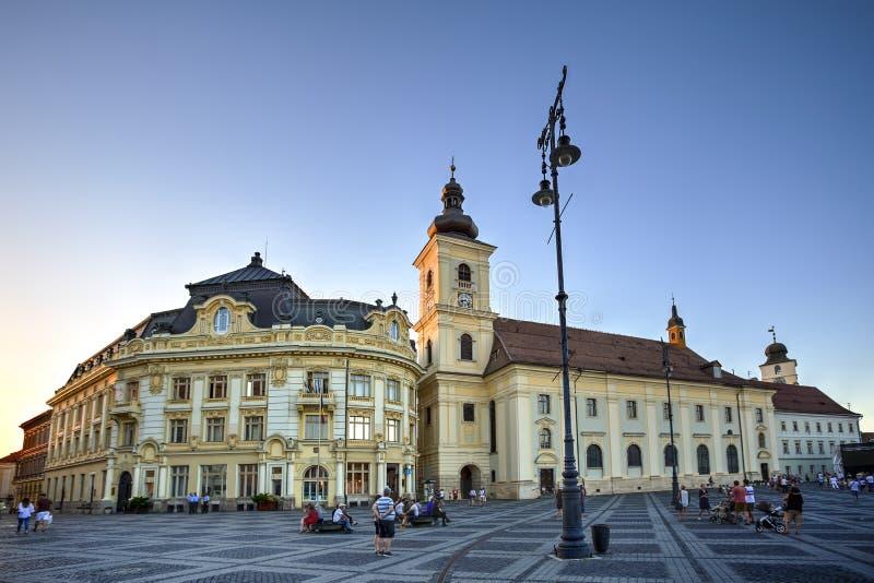 Sibiu, Transylvania, Romania stock photos